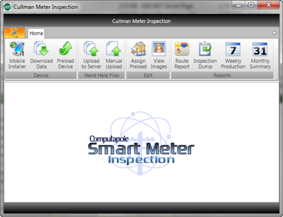 screen shot of test and treat pole inspections application